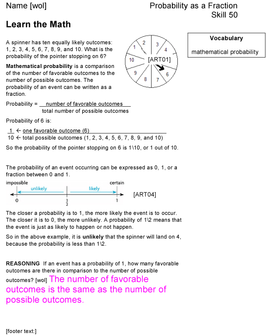 Houghton Mifflin Math Worksheets Grade 7 Answers